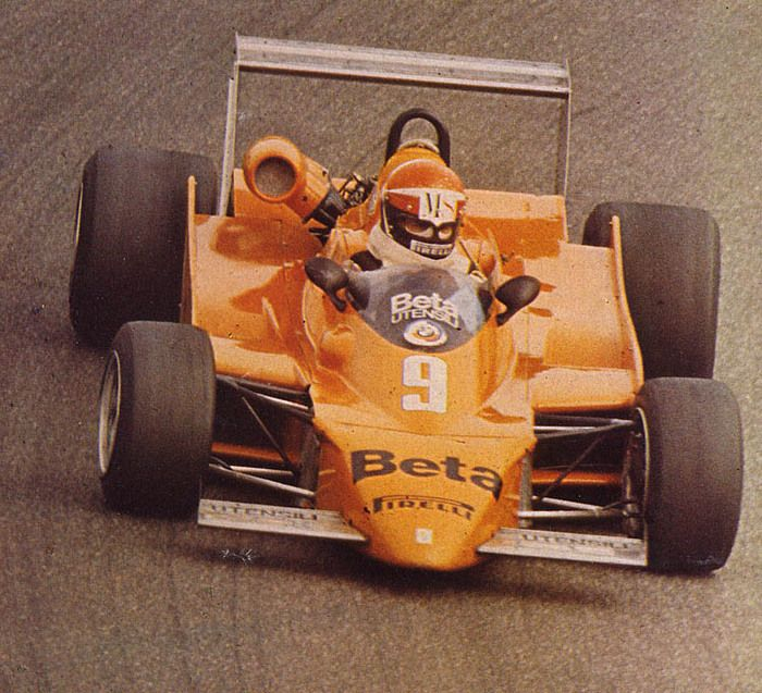 Eddie Cheever - Osella FA2/79 BMW - Osella Squadra Corse - XXVII Grote Prijs van Zandvoort 1979 - European F2 Championship, Round 9
