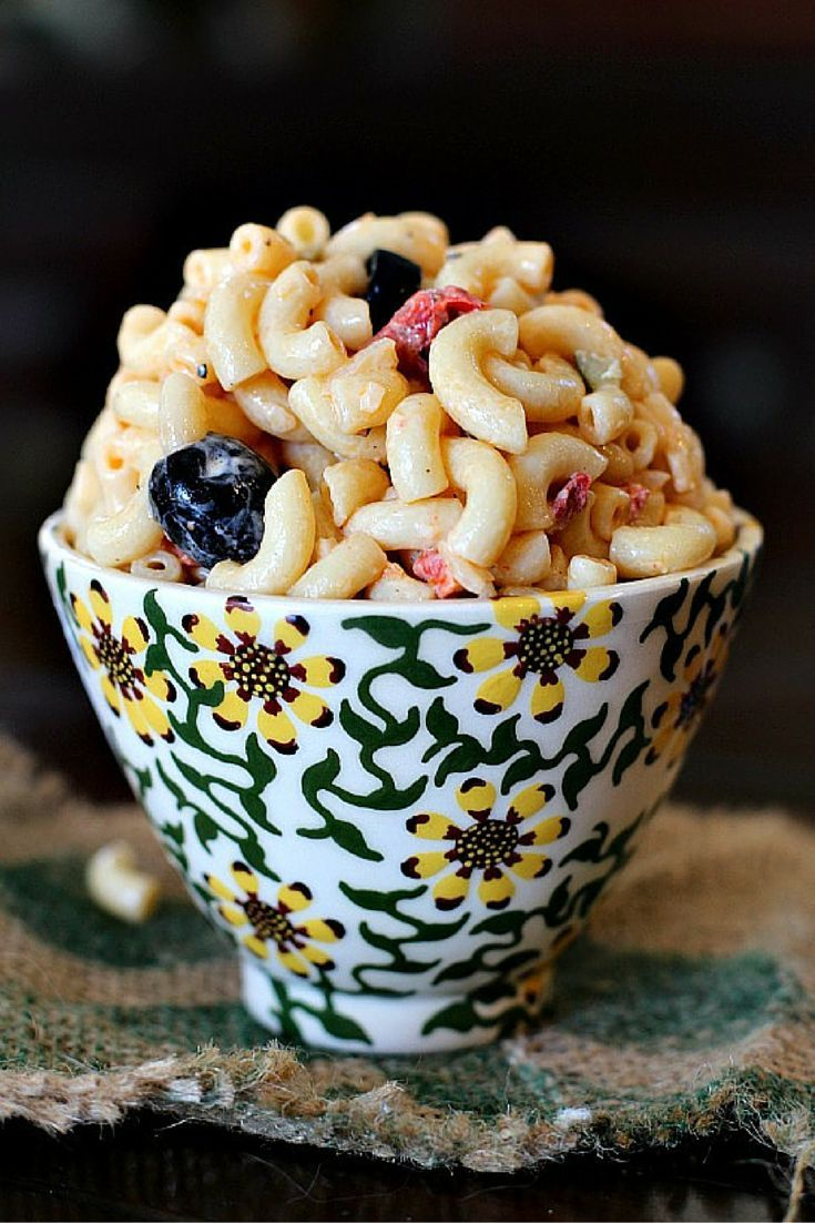 Pioneer woman 39 s best macaroni salad ever recipe we for Best summer pasta salad recipes ever