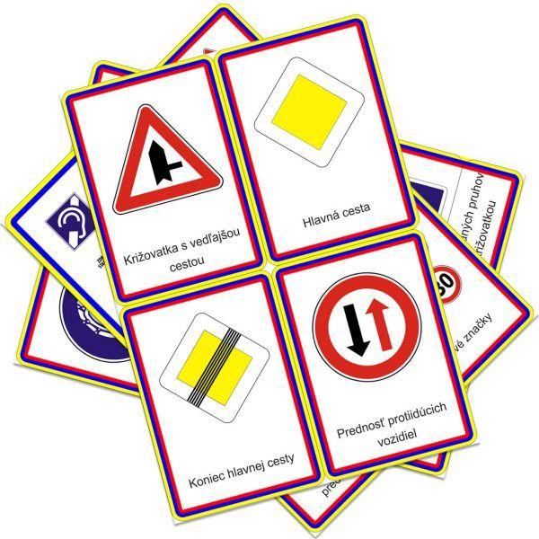 Dopravné značky Montessori