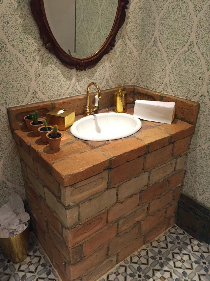 17 melhores imagens sobre Banheiro Lavabo no Pinterest  Madeira, Banheiros m -> Cuba Para Banheiro Rustica