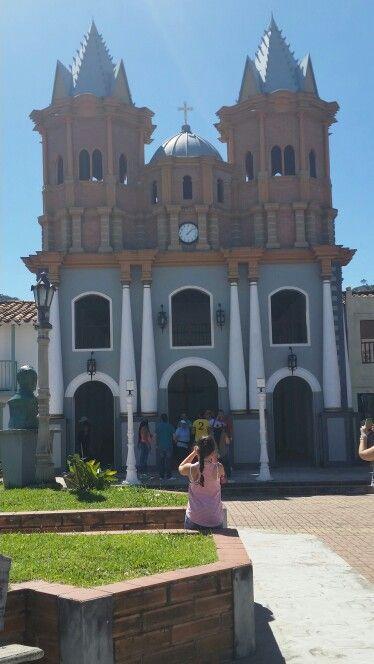 Réplica de antigua Iglesia del Peñol, Antioquia