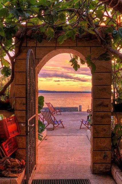 : Sunset Arch, Croatia photo via...