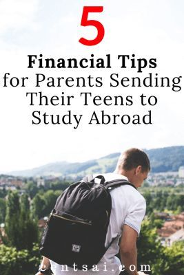 how to convince your parents to study abroad