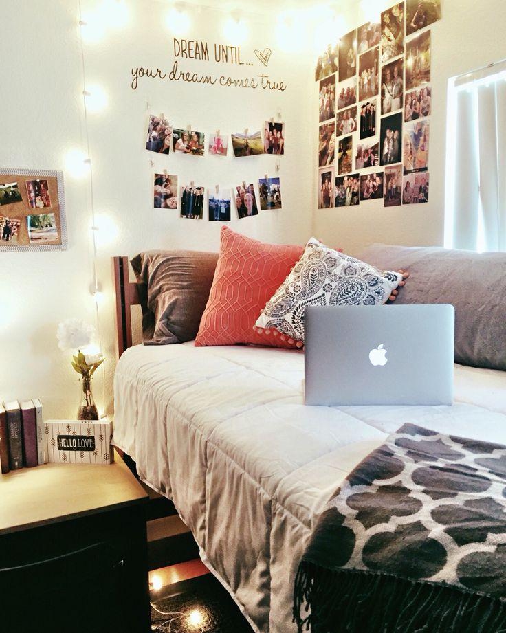My dorm room at GCU! #dorm #girl #DIY #college #cute