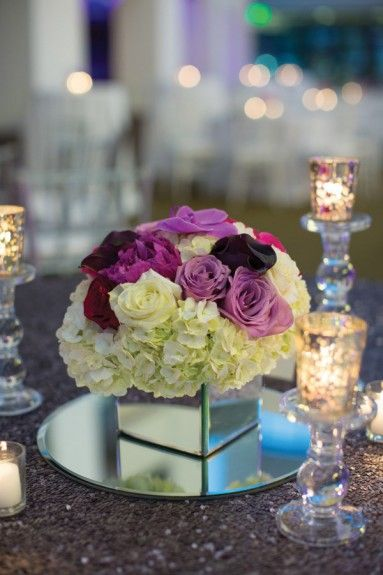 A simple, yet gorgeous table setting.