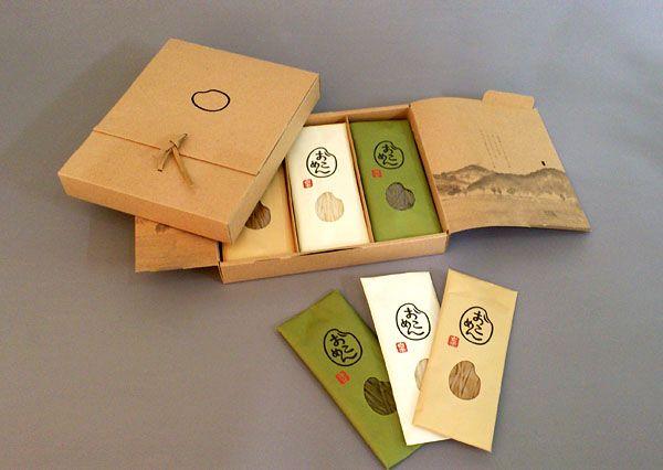 """森園 和美 「おこめんギフト」 Award winning #packaging for """"noodles?"""" PD"""