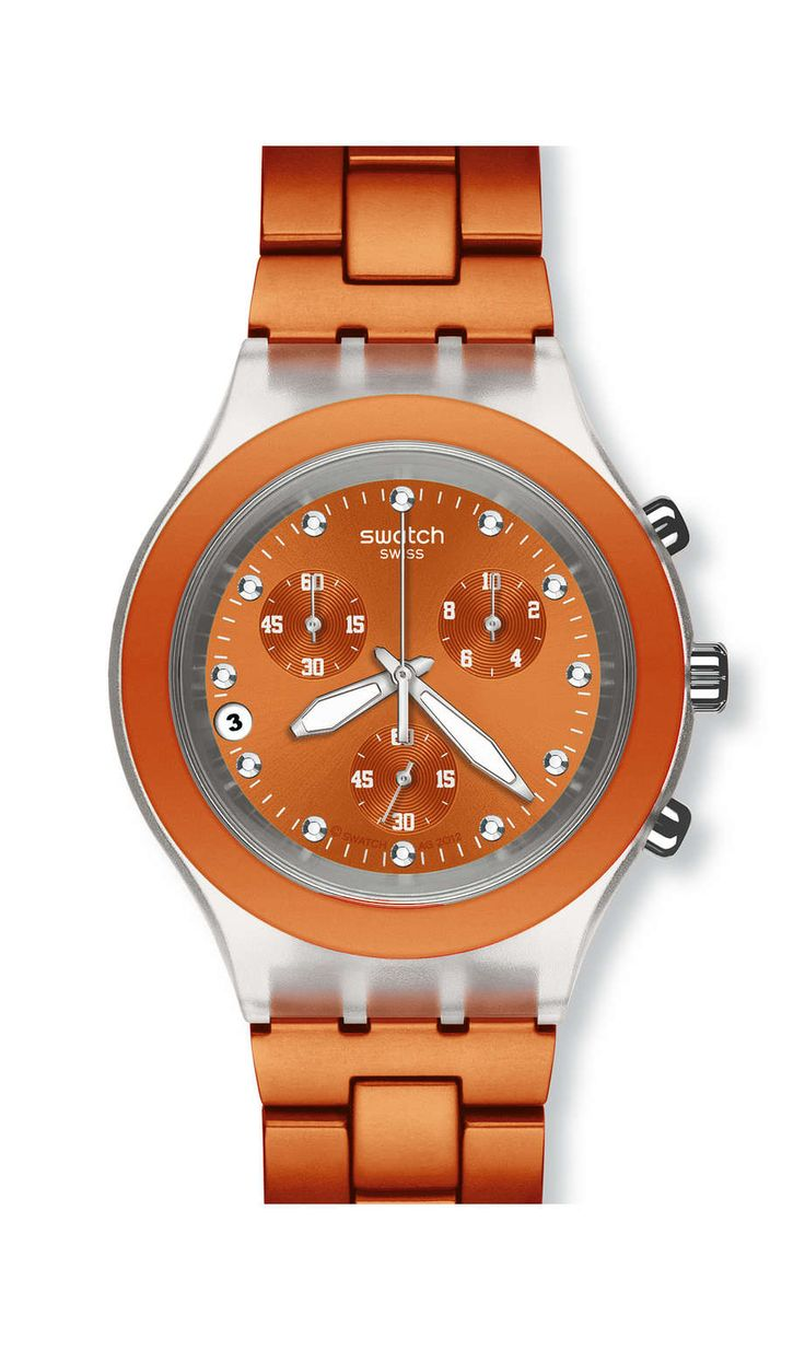 I mean, I do prefer the green, but I have a green watch already so I'm crushing over @swatch's Full-Blooded Naranja xD
