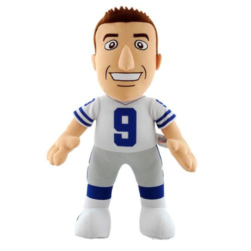 NFL Dallas Cowboys Tony Romo 14Inch Plush Doll *** Check out the image by visiting the link.Note:It is affiliate link to Amazon.