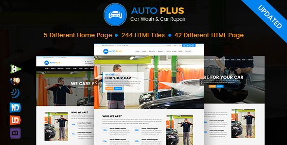 Auto Plus HTML Template is built for Car Wash Car Cleaning Auto Wash Car Repair Auto Mechanic Car Repair Shops Garages Automobile Mechanicals Mechanic Workshops Auto Painting Auto Repair Car Workshop Auto Workshop Car Service Tyres Auto Care Car Care Car Maintenance Vehicle Diagnostics Auto Glass Body Shops Auto Inspections etc.  Live Preview  Download