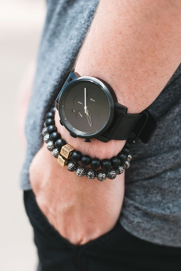 "themanliness: "" Custom made luxury bracelets from Aurum Brothers Premium Minimal Silver Onyx - $149 Premium Minimal Silver - $379 Shop Here """