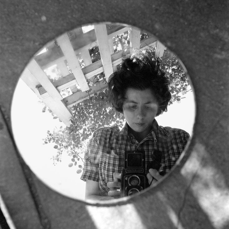 "Wonderful women. ""Mysterious Street Photographer Vivian Maier's Self-Portraits 