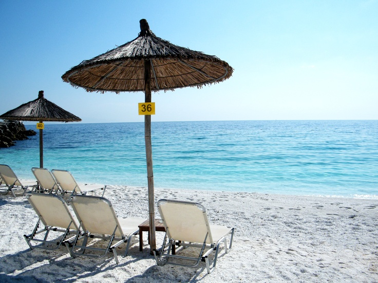 Marble Beach - Thassos, Greece