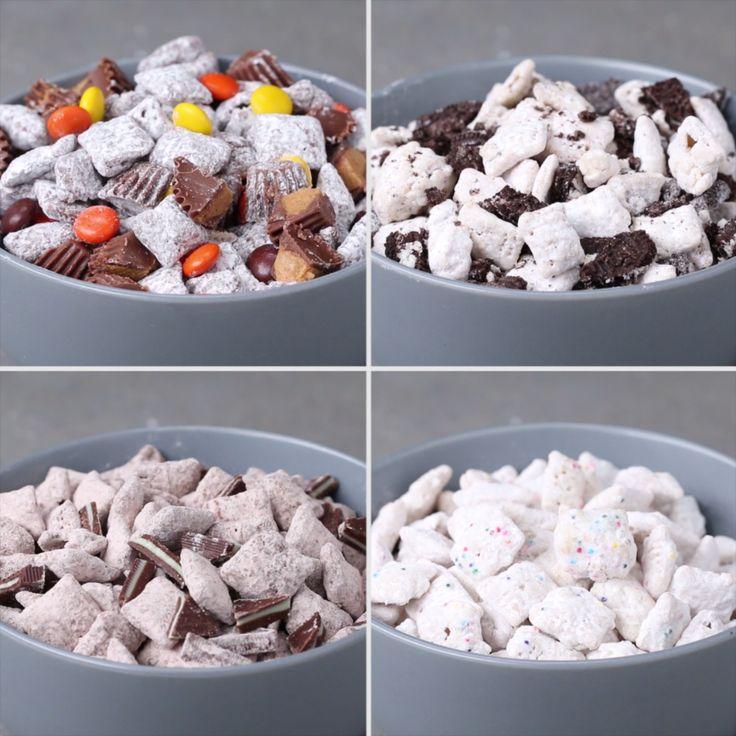 Snack Mix 4 Ways