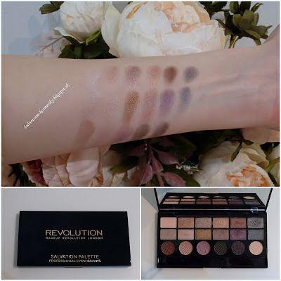 Makeup Revolution Salvation Palette v odtieni Girls on Film  je skvelá paletka tieňov na oči, kde nájdete matné aj trblietavé tiene v balen...