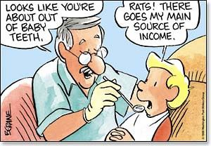 Baby Teeth/Source Of Income -  Sharper Cards
