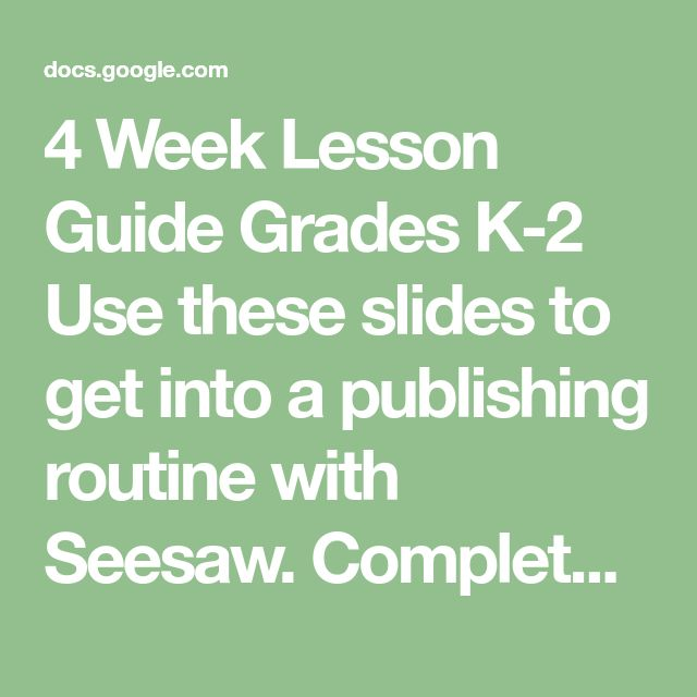 week lesson 2 Week 2 - discussion 2 - lesson planning karyn lenhardt-betts ece 430 early childhood education capstone instructor: amy wood april 23, 2015 while mrs ford usually allows you to choose the.
