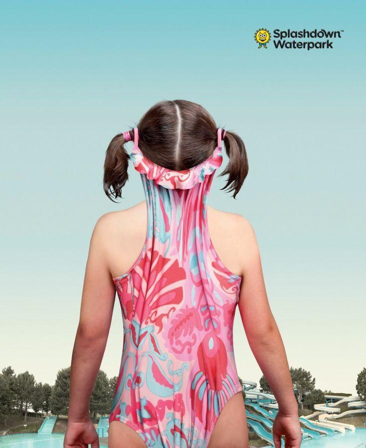 何が起きたの!? カナダのウォーターパークによる想像力を刺激するプリント広告 | AdGang
