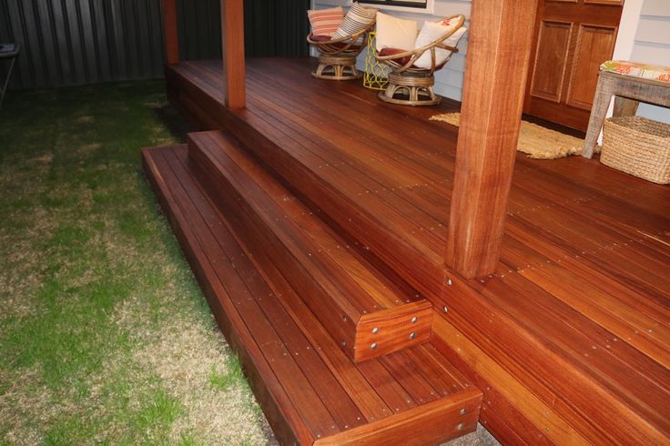 How to Build a Deck. Deck Steps