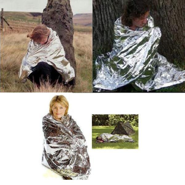 Camping Rescue Thermal Blanket Wrap Emergency Survival Tool for  – Fastlanerz
