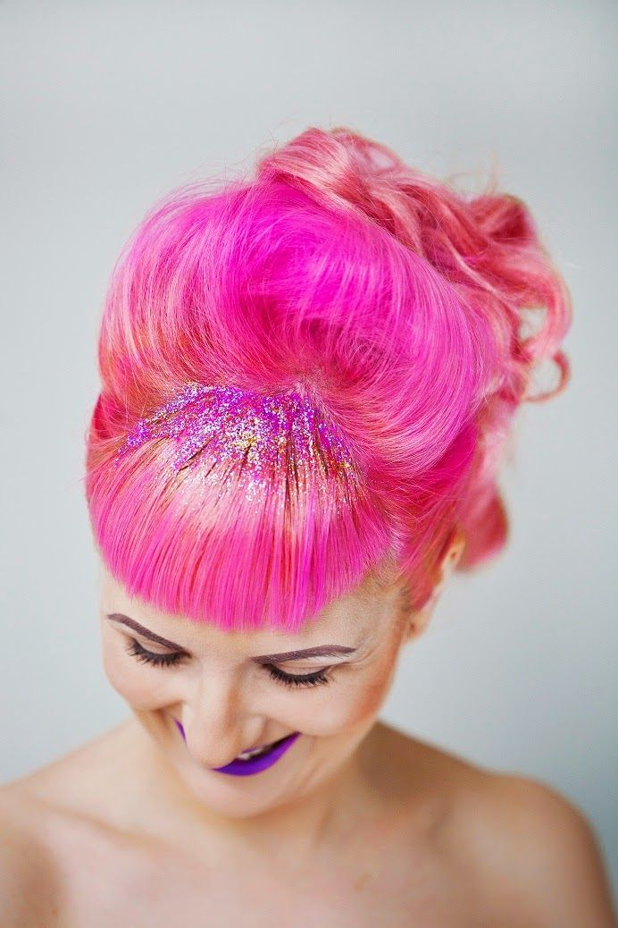 Sassy those Locks: Glitter Fades and Hair for Days | Bee Waits For No One