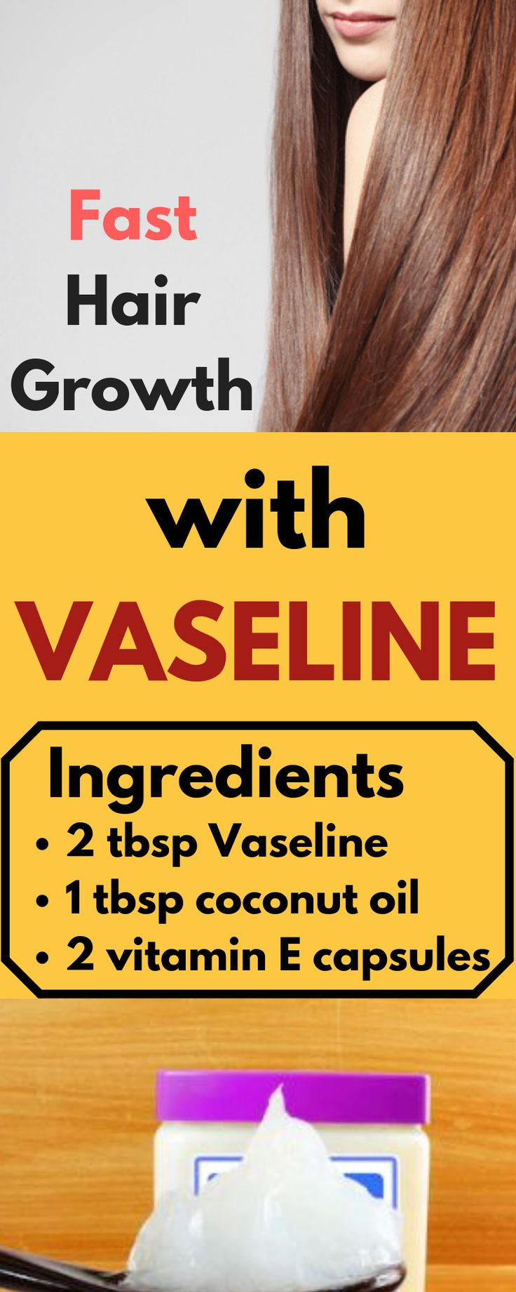 "consultants secret revealed, ""Glorious pure treatment for quick hair progress with Vaseline"""