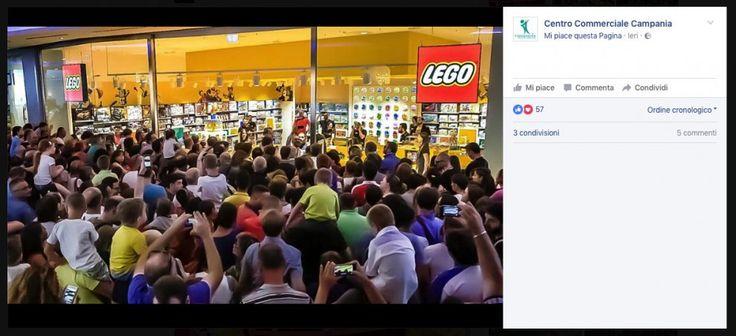 Ha appena aperto ed è già un fenomeno virale. Centinaia di persone hanno partecipato venerdì pomeriggio all'inaugurazione del Lego