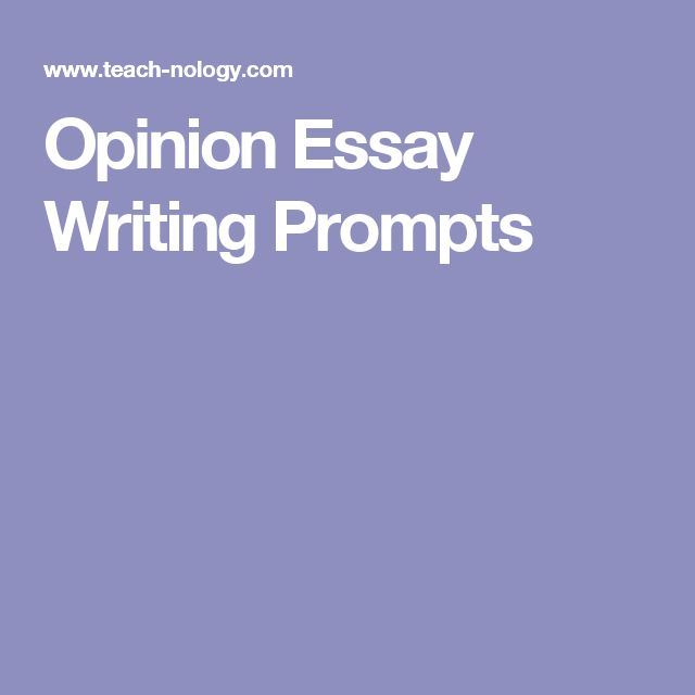 Opinion essay writing help