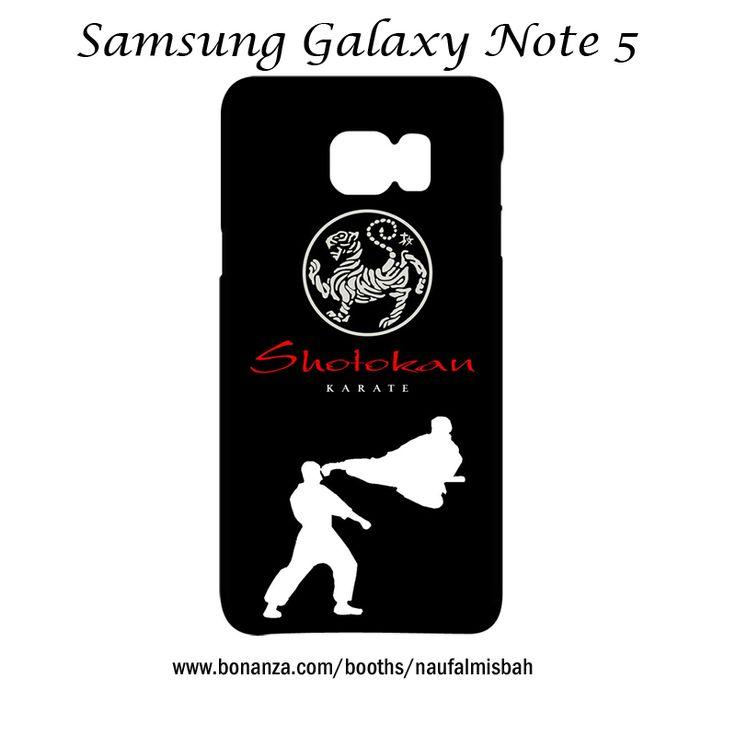 Shotokan Karate Samsung Galaxy Note 5 Case Cover Wrap Around