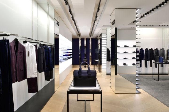 Dior Homme Store Vancouver Canada 187 Retail Design Blog