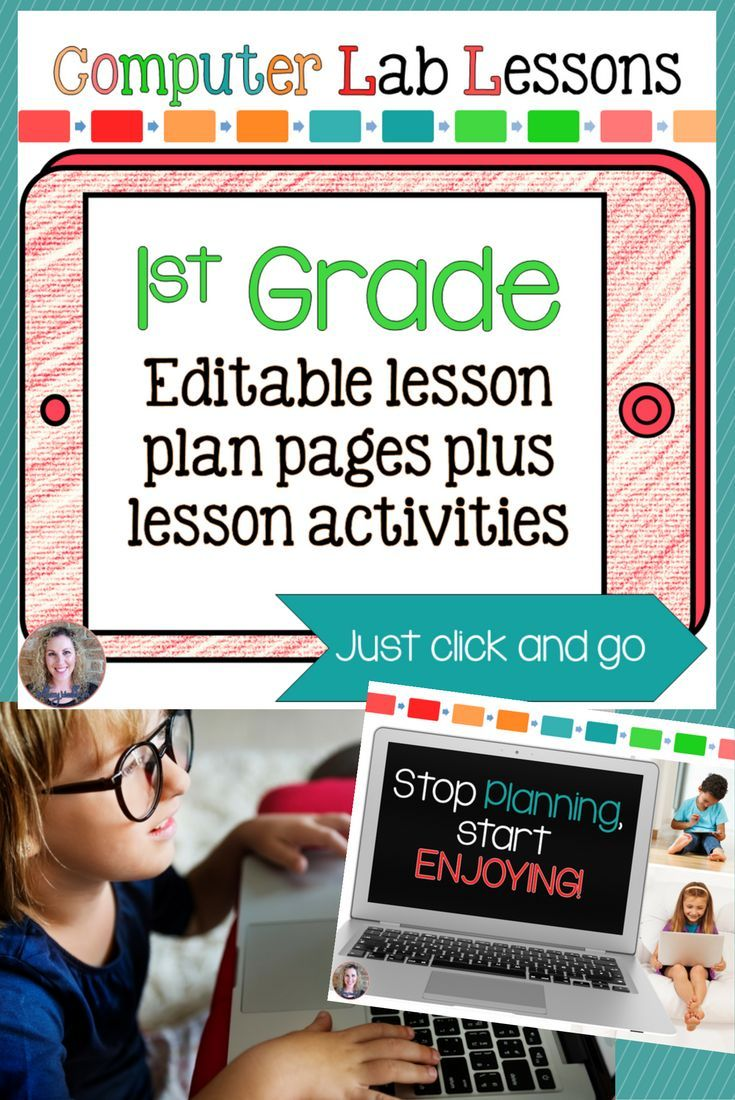 1st Grade Technology Lessons and Activities