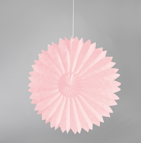 pastel pink tissue paper daisies party decorations