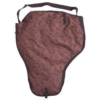 Saddle Covers 183416: Tough-1 Heavy Denier Nylon Saddle Carrier In Prints Tooled Leather Brown -> BUY IT NOW ONLY: $44.88 on eBay!