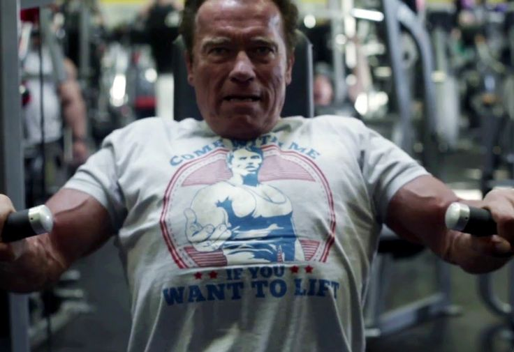 We sat through his live stream it so you don't have to. http://greatist.com/move/arnold-schwarzenegger-live-streams-his-workout