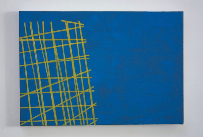 Simon McIntyre, Yellow Fracture, 2013
