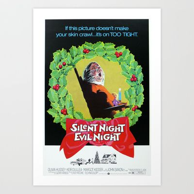 Silent Night  Art Print by Rotton Cotton Candy  - $17.68