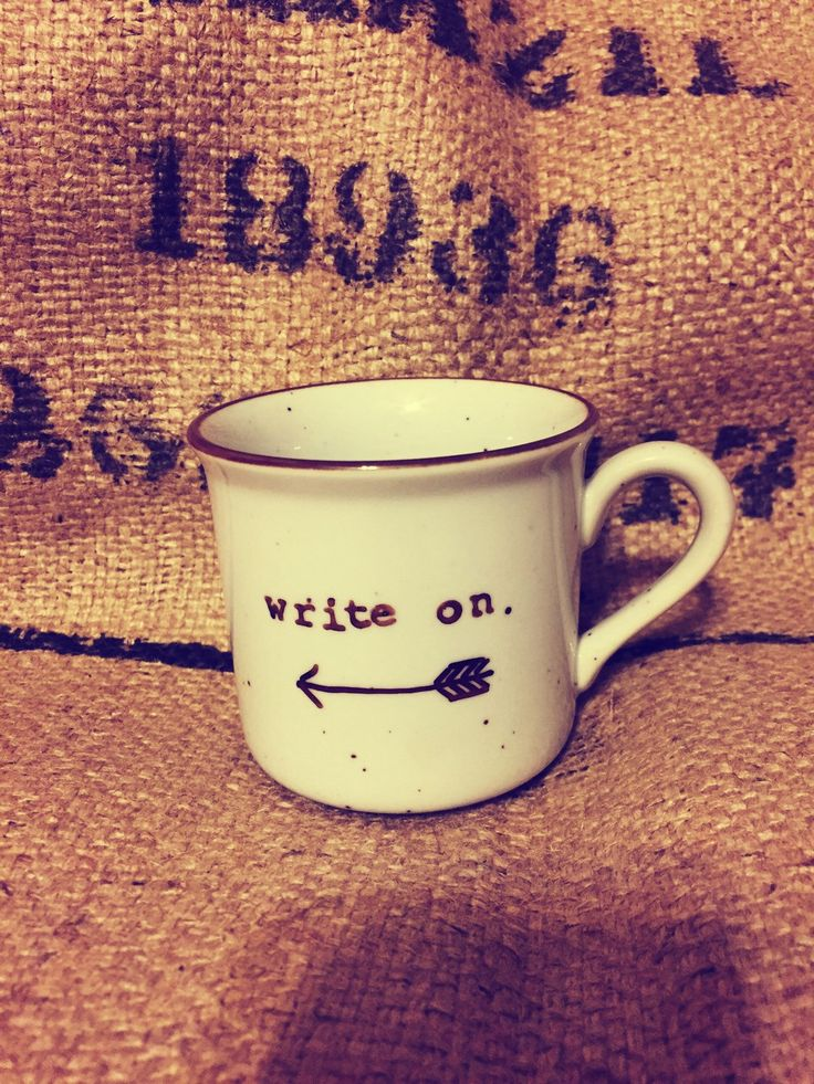 A personal favorite from my Etsy shop https://www.etsy.com/listing/256817997/coffee-cup-write-on