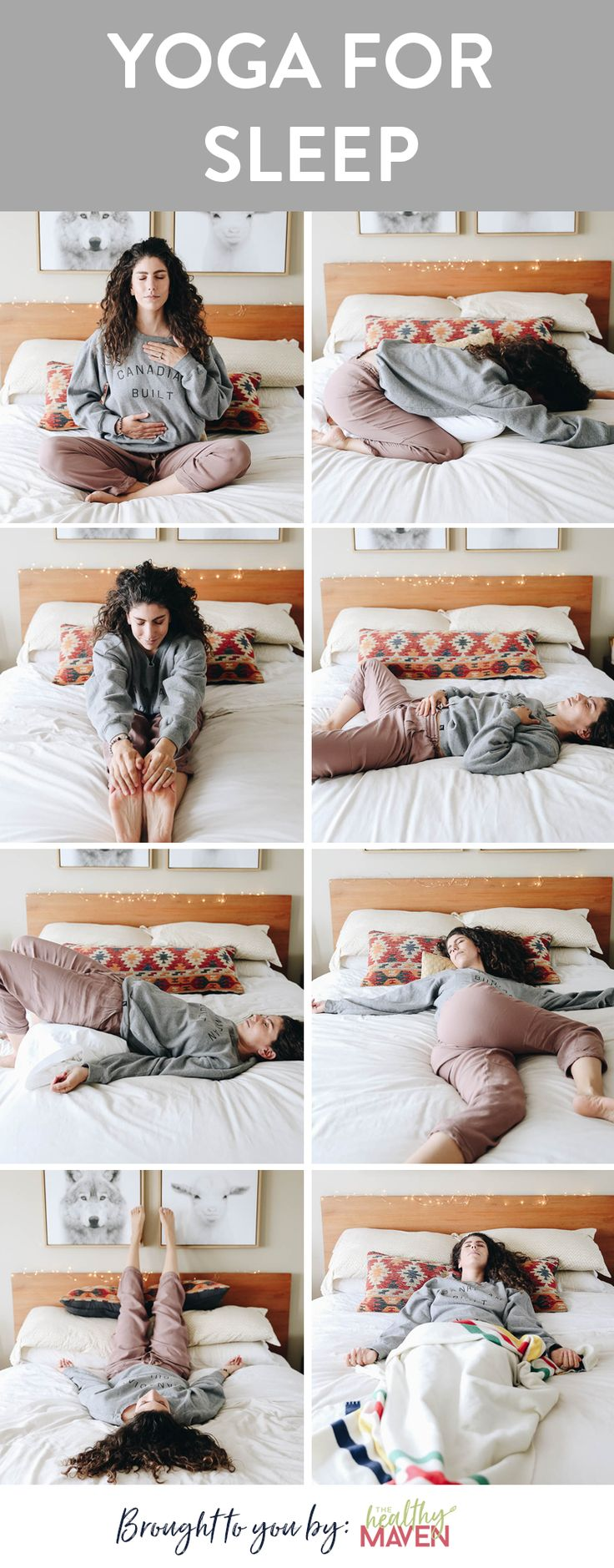 Struggling with sleep issues or looking to build better sleep hygiene? Try yoga … – The Healthy Maven