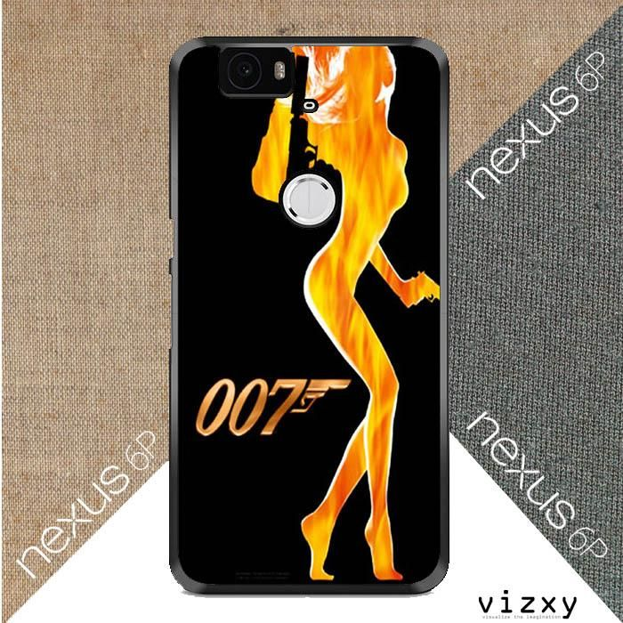 James Bond 007 V0482 Huawei Google Nexus 6P Case