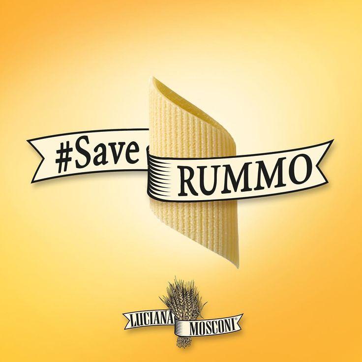 Da #pasta a pasta. L'abbraccio di #LucianaMosconi a #PastaRummo - #saveRUMMO