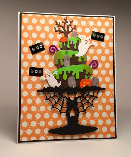 Stamper at Heart: Spooky Cake - Scrapping Cottage