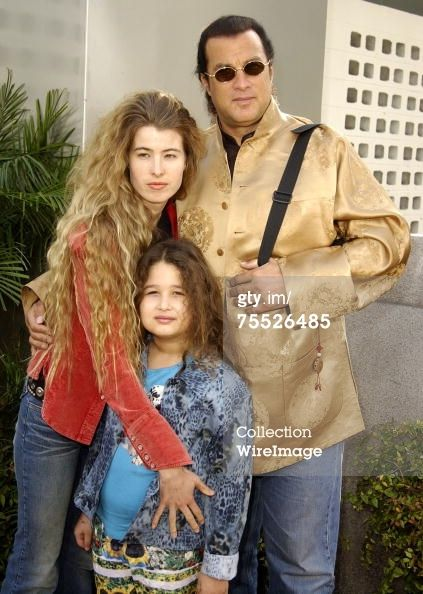 Steven Seagal Daughter | Steven Seagal Arissa Wolf Daughter Savannah At The Cinerama… News ...