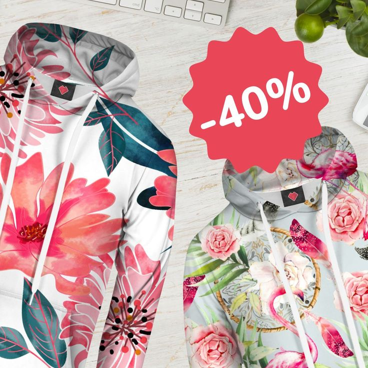 Did you notice our new product- #hoodie?👍 We've got some good news for the beginning of the weekend- it's 40% OFF now!😀🎉🎉 Don't keep calm, time is just till the end of Sunday. ➡️ https://liveheroes.com/en/shop/women/hoodie?special=featured #sale #discount #fullprintclothes #liveheroes #weekendsale