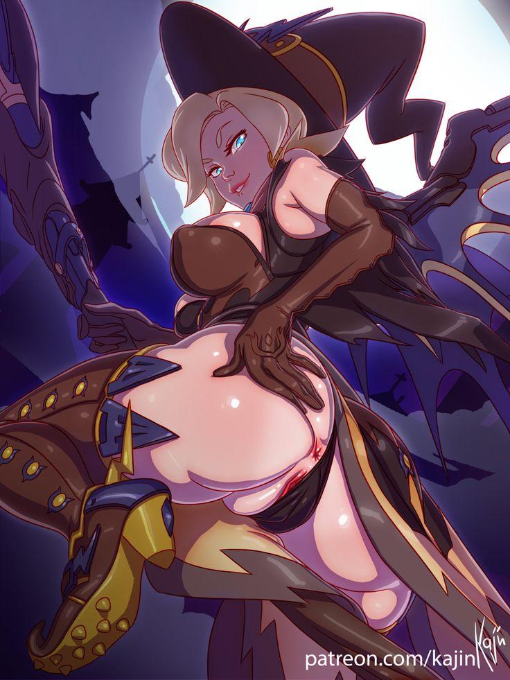 witch mercy porn