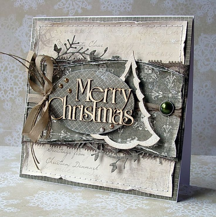 1425 Best Christmas Cards Images On Pinterest Xmas