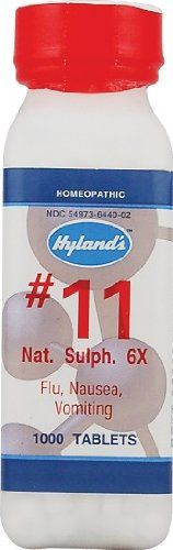 Amazon.com: Nat Sulph 6x (500Tablets) Tissue Salt (Cell Salt) Brand: Hylands (Standard Homeopathic): Health & Personal Care