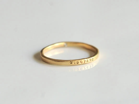 15 best wedding rings images on pinterest wedding bands promise gold band with hidden diamond junglespirit Choice Image