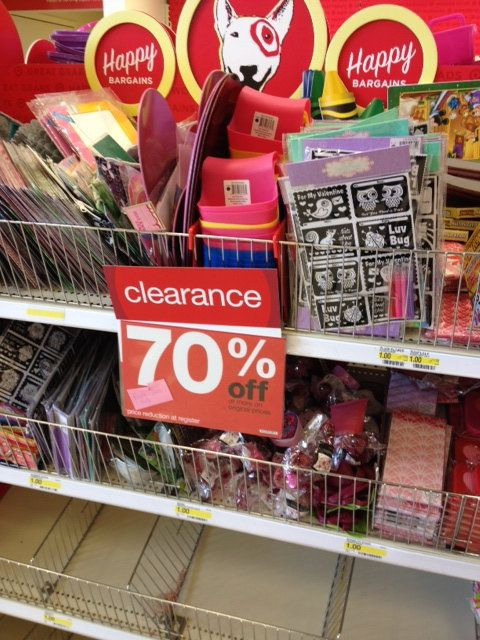 Here is the clearance to look for in February at Target-->