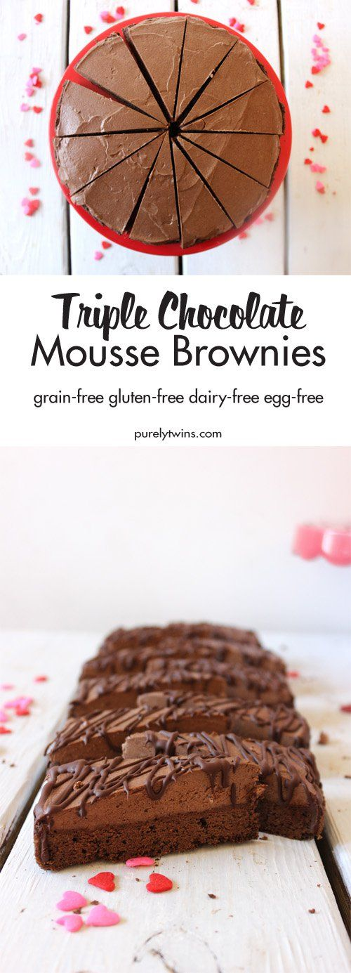 Pin for Later: Healthy Chocolate Mousse Brownies