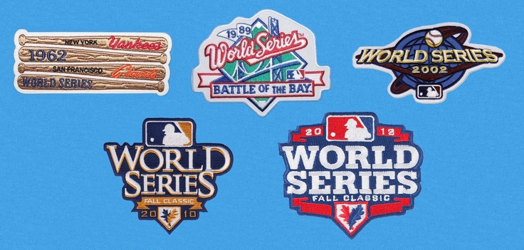 1962, 1989, 2002, 2010 and 2012 World Series Patches.  OK, here's my super secret plan.  I'm going to go to the Giants Dugout store and buy a jacket and sew all these patches onto it....  Shhhhhh!  Don't tell anyone.