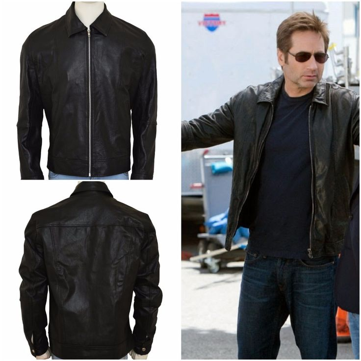 David Duchovny Hank Moody Californication Season 5 Jacket for Hank Moody's fans. He is also known for his role as FBI agent in Drama series 'The X Files.